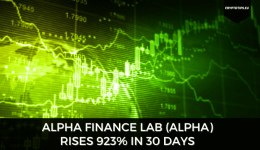 Alpha Finance Lab (ALPHA) rises 923% in 30 days