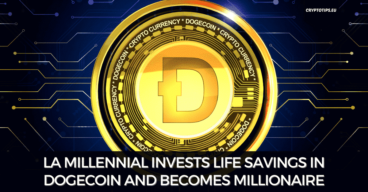 LA Millennial Invests Life Savings In Dogecoin And Becomes Millionaire